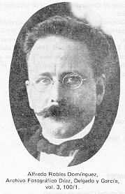 Alfredo Robles Domínguez (Guanajuato, Guanajuato, 1876 - Ciudad de México, 1928) fue un ingeniero militar, revolucionario y político mexicano. - FullCandidate122121